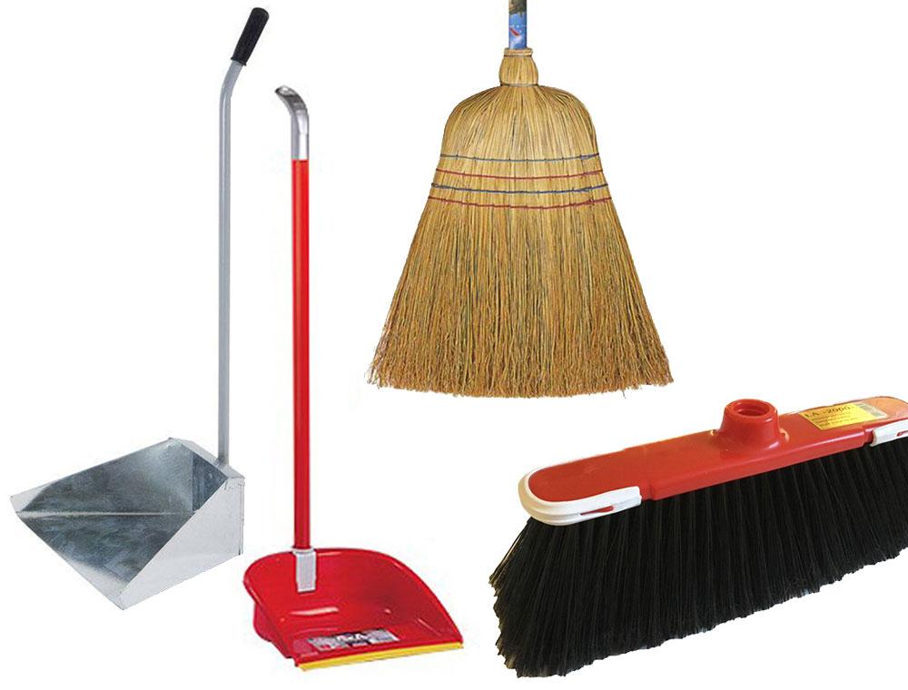 attrezzature pulizie